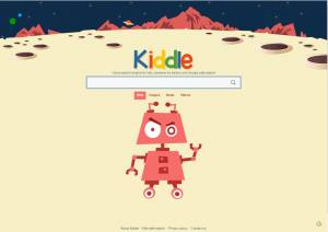 Kiddle search for children.