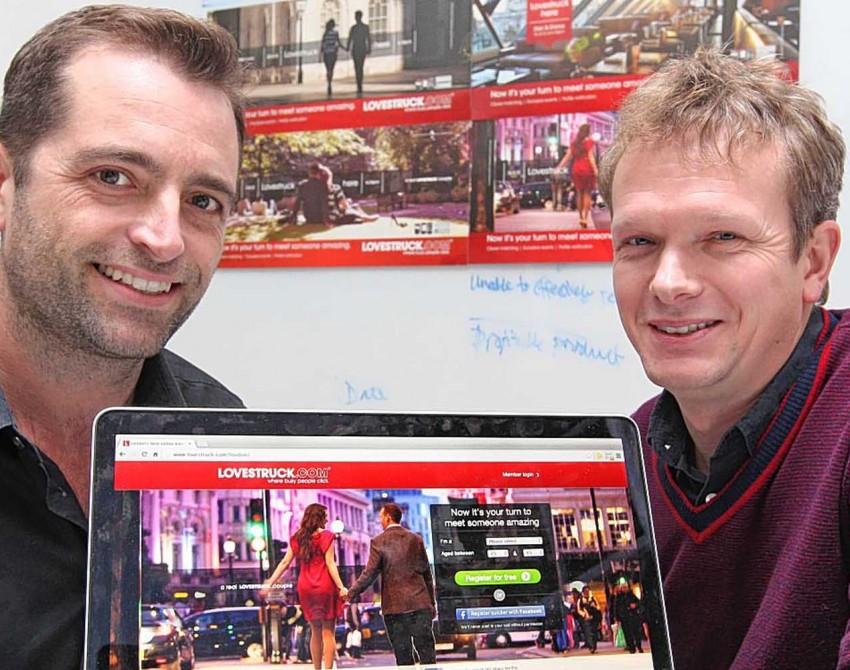 Brett Harding and Laurence Holloway from Lovestruck.com