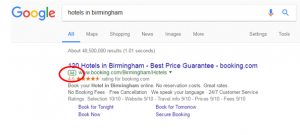 Illustration to show the new Google Adwords icon.